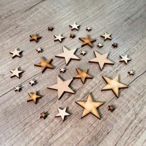 výřez hvězdička