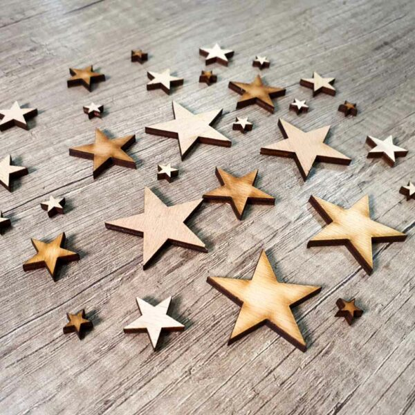 výřez hvezdičky