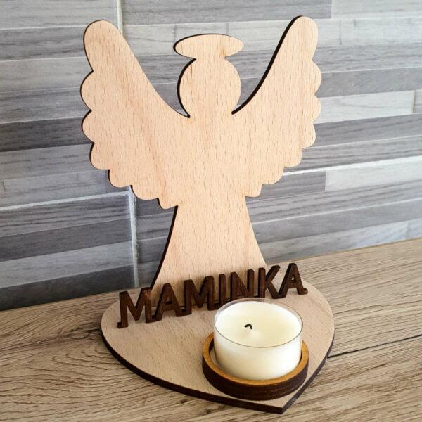 Anděl svíčka 1